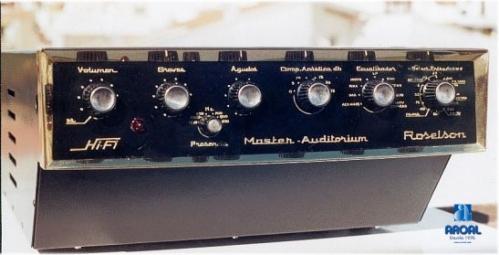 Amplificador Roselsón 15 Wts. Rms. Mono