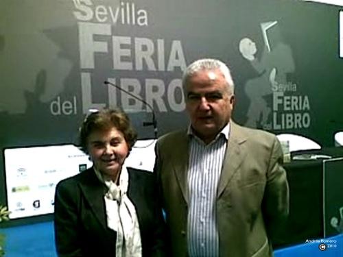 Carmen Laffón y Andrésl Romero. 12- mayo 2010