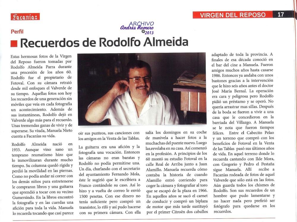 La obra de Rodolfo Almeida cobra actualidad. (2/2)
