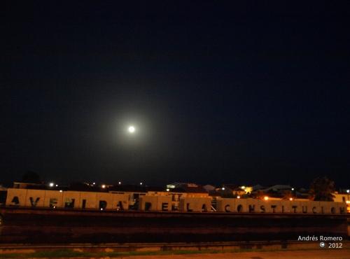 VALVERDE DEL CAMINO.Luna llena de La Charca