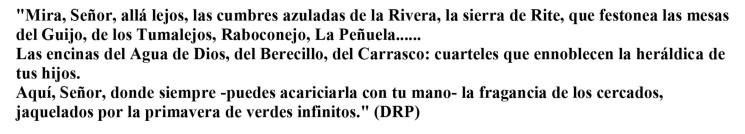 DRP. Oracion