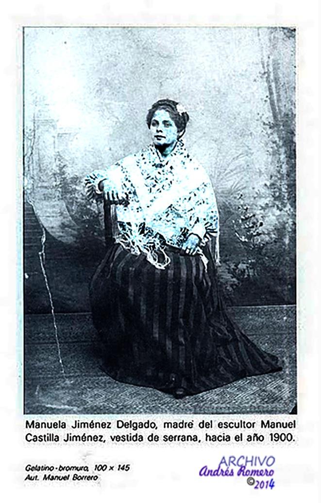 Manolita Jimenez Delgado. Serrana de Valverde