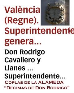 REGNE DE VALÉNCE-Coplas