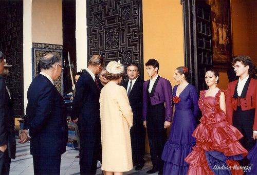 Albarizuela. Reina de Inglaterra 1988