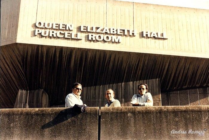 Con Albarizuela , Londres 1986