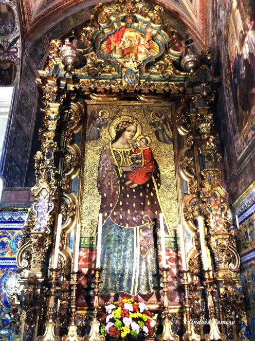 Virgen de Rocamador.Sevilla